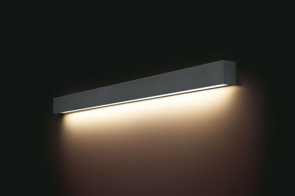 Lampy oświetlenie Nowodvorski - STRAIGHT WALL graphite L 6353
